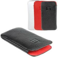 Apple iPhone 4s / 4 Cover Leather Case Pouch Cell phone Case Goldberg EasyCase