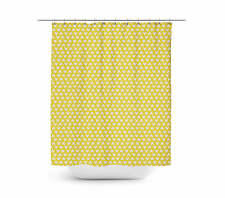 Mickey Polka Dots Yellow Shower Curtain - Unique in 4 sizes for any Bathroom