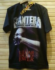PANTERA Cowboys From Hell Vulgar Display Of Power Heavy Metal Rock Band T-shirt