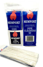 Newport Pipe Cleaners White Chenille Sticks Stems Art Craft 150mm Bendable