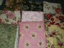 CHOICE:  100% COTTON FABRIC WITH ROSES