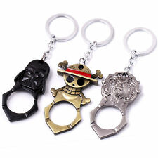 World of Warcraft Star Wars One Piece Keychain Key Ring Pendant Collection Gift