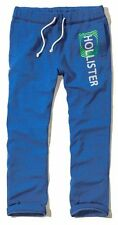 New Hollister By Abercrombie Mens Sweatpants Trousers Size XS S Blue