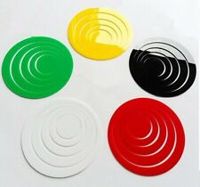5 Rings Max dia. 15cm Home Decor 3D Art Wall Decals Circles Removable Stickers