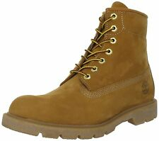 Men's Timberland 6-Inch Basic Waterproof Boots Wheat Nubuck 10066
