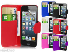 Magnetic Wallet Flip Book Card Holder Leather Pu Case Cover For Apple iPhone 7