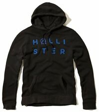 Nwt Hollister By Abercrombie Mens Full Zip and Pullover Hoodie Black