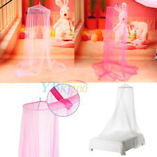 Summer Baby Infant Mosquito Net Tent Toddler Bed Crib Canopy Netting White Pink
