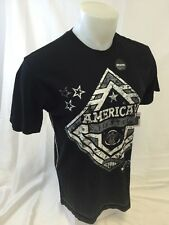 AMERICAN FIGHTER By AFFLICTION Mens T Shirt BLACK M L XL 2XL 3XL HILLSDALE M3100