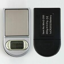 Mini Pocket LCD Digital Lighter Style 0.01~200g Gram Pocket Jewellery Scale JS~