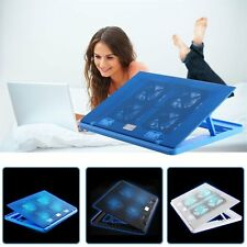 New LED Fan USB Stand Holder Cooling Base Pad For Notebook Laptop H1/H2 lot JS~@