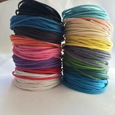 10m/11Yards Round Waxed Nylon Cord Necklace Thread Wire Jewelry Crafts DIY 1.5mm