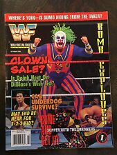 WWE WWF Wrestling Magazine October 1994 feat. Doing the Clown