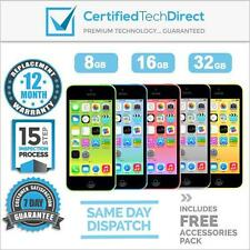 NEW Apple iPhone 5C 4G - 8GB 16GB 32GB *6 Month Warranty *Unlocked