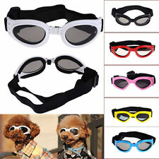 Small Pet Dog Goggles UV Sunglasses Sun Glasses Glasses Eye Wear Protection RF