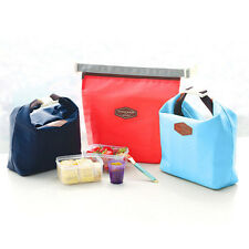 Waterproof Thermal Cooler Insulated Lunch Box Portable Tote Storager Picnic Bags
