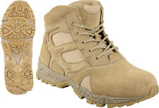 "Desert Tan Military Forced Entry Deployment Combat Tactical 6""BOOTS SIZE 5 TO 13"