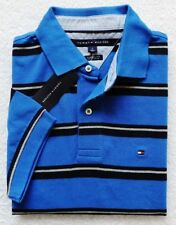 NWT Tommy Hilfiger Men's Short Sleeve Striped Polo Size: M