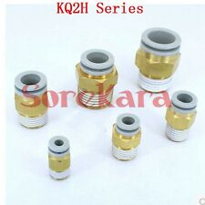 """KQ2H Series One-Touch Fitting Male Connector Tube 4-16mm Port M5-G1/2"""""""