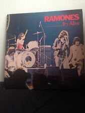 Ramones - It's Alive - 2 X Vinyl LP - Scratched Doesn't Affect Play