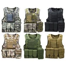 Amphibious Tactical Military Waistcoat Combat Assault Plate Carrier Vest AUS