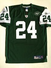 2007 Darrelle Revis New York Jets AUTHENTIC Reebok NFL Equipment Jersey Green