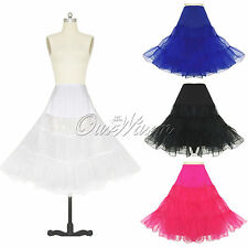 Tutu Petticoat Dance Party Skirt Dress Net Underskirt Fancy Accessory Rockabilly