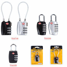 TSA 3&4 Digit Combination Suitcase Luggage Security Travel Cable Lock Padlock