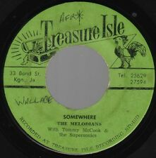 1967 Rocksteady Reggae The Melodians - Somewhere / You have caught me Babe