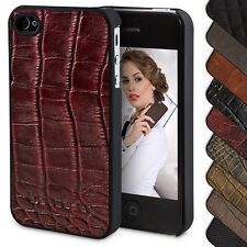 Apple iPhone 4S / 4 Cover Case Leather Pouch Cover Protector Bouletta Jacket