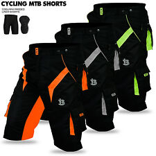 MTB Cycling Short CoolMax Padded Bicycle Off Road Cycle Liner Shorts