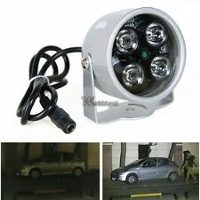 4 LED IR Light illuminator Night vision Surveillance Infrared CCTV CCD Camera
