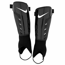 Nike Tiempo Park Shield Shin Pads Mens Black/White Football Soccer