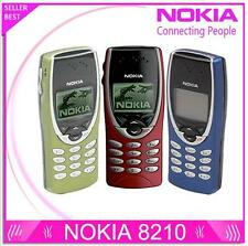 Nokia 8210 Unlocked 2G Dualband GSM 900 / 1800 GPRS Classic Cheap Cell phone