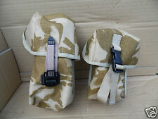 GENUINE BRITISH ARMY ISSUE DESERT CAMOUFLAGE UTILITY POUCHES-SOLD SEPARATELY