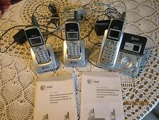 AT&T Cordless Phone System With Digital Answering System And Call Waiting #E6013