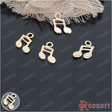 14*14MM Alloy Music symbols Charms Pendants Jewelry Findings Accessories 20996