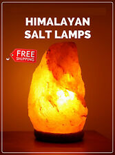 "Himalayan NATRUAL SALT LAMP Rock Crystal 2 TO 3KG ""NEW"""