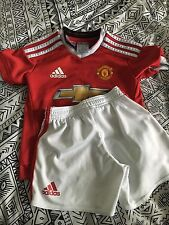 Babys Manchester United Football Kit Age 18-24 Months
