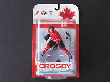 Mcfarlane 2010 Team Canada Sidney Crosby Olympic Hockey Figure Red Jersey - New