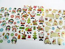 Fun Christmas Xmas Stickers for Kids Labels for Craft Card-making & Decoration
