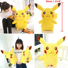 35cm Cute Pokemon Pikachu Figures Soft Stuffed Plush Doll Kids Children Toy Gift