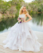 2016 Ball Gown Serxy Wedding Dress Bridal Gown Prom Deb Party Pageant Custom