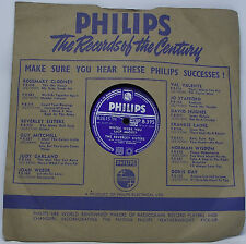 THE BEVERLEY SISTERS : WHERE WERE YOU LAST NIGHT 78 rpm 10