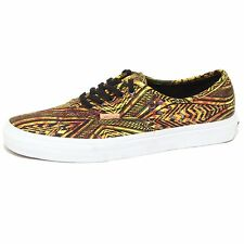 7791P sneaker uomo VANS AUTHENTIC CA giallo/nero multicolor shoe men