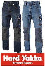 PACK OF 2 PAIRS HARD YAKKA MENS LEGENDS DENIM WORK JEANS Y03900