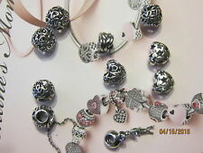 """Authentic Pandora Sterling Silver  """"Pick Your Choice"""" Charms - $14.99 EA"""