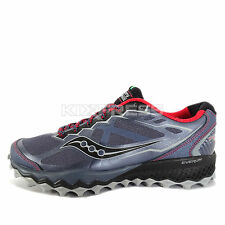 Saucony Peregrine 6 [S20302-1] Trail Running Grey/Red-Black