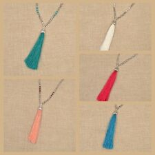 Hot Bohemian Beaded Tassel Pendant Necklace Long Sweater Chain Jewelry Hippy