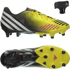 Adidas Predator LZ XTRX SG professional men's soccer cleats yellow/white/black